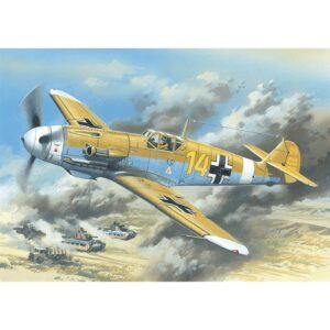 1:48 ICM: Messerschmitt Bf 109F-4Z/Trop, WWII (48105)