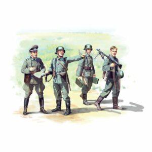1:35 ICM: German Infantry (1939-1942) (4 Figures) (35639)