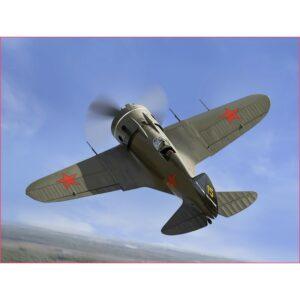 1:48 ICM: I-16 Type 28, WWII Soviet Fighter (48098)