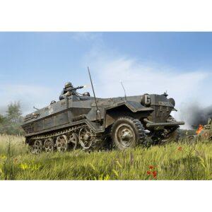 1:35 ICM: Sd.Kfz.251/1 Ausf.A, WWII German Army