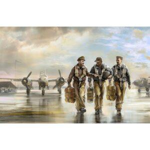 1:32 ICM: USAAF Pilots (1941-1945) 3 Figures (32104)