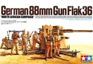 1:35 Tamiya: German 88mm Gun Flak 36