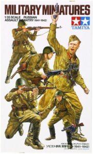 1:35 Tamiya: Russian Assault Infantry