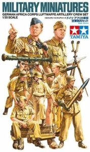 1:35 Tamiya: German Africa Corps Luftwaffe Crew Set