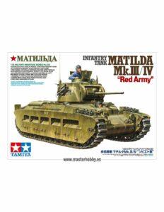 1:35 Tamiya: Matilda MkIII/IV Red Army (35355)