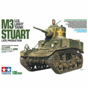 1:35 Tamiya: M3 Stuart Late Production (35360)