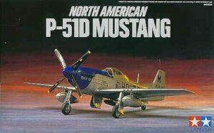 1:72 Tamiya: North American P-51D Mustang (60749)