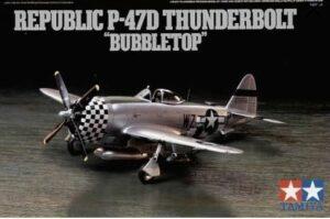 "1:72 Tamiya: Republic P-47D Thunderbolt ""Bubbletop"""