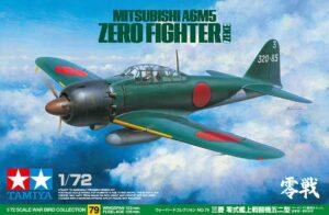 1:72 Tamiya: Mitsubishi A6M5 Zero Fighter ZEKE