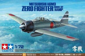 1:72 Tamiya: Mitsubishi A6M3(Hamp)-Zero Fighter M 32(60784)