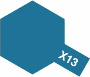 Acrylic X-13 Metallic Blue Gloss (23ml)