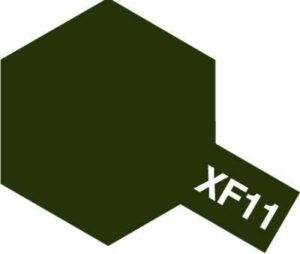 Acrylic XF-11 Flat Japanese Navy Green (23ml)