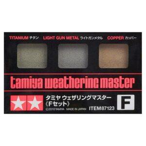Tamiya Weathering Set F – Sand/Lt. Sand/Mud (87123)
