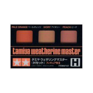 Tamiya Weathering Set H – Pale Orange/Ivory/Peach (87127)