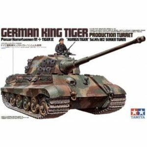 1:35 Tamiya: King Tiger Prod. Turret (35164)