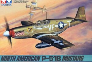 1:48 Tamiya: Mustang P-51B (61042)
