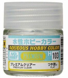 H-103 Premium Clear Flat Gunze – Hobby Color
