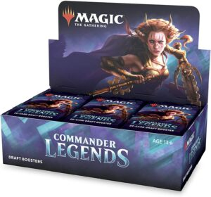 MtG: Commander Legends Draft Booster Box(24 Packs) – ES