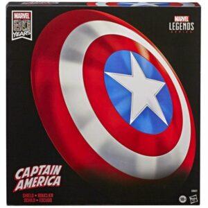 Hasbro Marvel Legends – Escudo Capitán América Ed. 80 Años