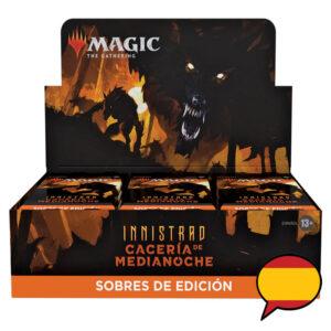 Mtg: Innistrad Midnight Hunt Set Booster Box (36u) (ES)