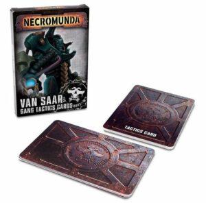 Necromunda: Van Saar Gang Tactics Cards 2 Ed (EN) (300-18)