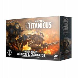Titanicus: Cerastus Knights Acheron & Castigator (400-37)