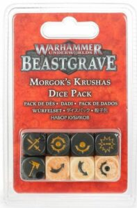 Underworlds: Beastgrave Dados Machakantez De Morgok 110-97