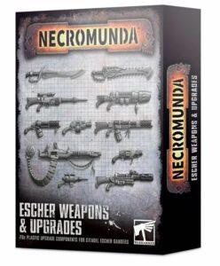 Necromunda: Mejoras Y Armas De Escher (300-74)