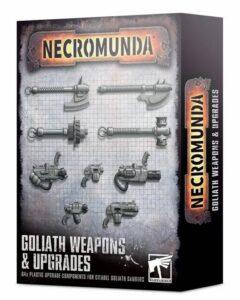 Necromunda: Mejoras Y Armas De Los Goliath (300-75)
