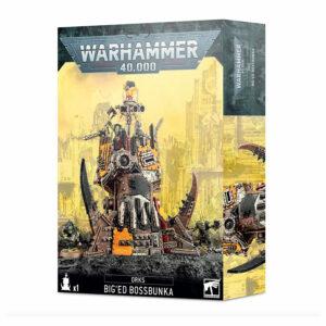 Warhammer 40k – Orks: KabezaBúnker  (50-45)