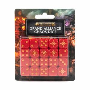 PV – AOS GRAND ALLIANCE CHAOS DICE SET (80-22) – 18/09/21