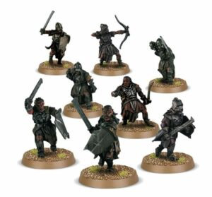 Middle Earth Strategy Battle Game: Uruk-hai Scouts
