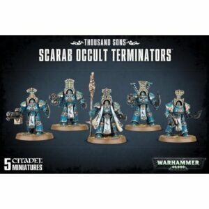 Thousand Sons: Scarab Occult Terminators (43-36)