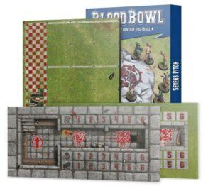 Blood Bowl: Campo De Siete (Doble Cara + Banquillos)(202-17)