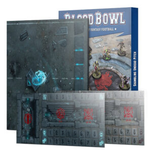 Blood Bowl:Shambling Undead Pitch&Dugouts(200-56)