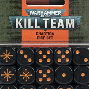 KILL TEAM: Chaotica Dice Set (102-81)