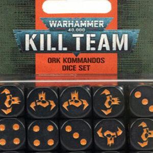 KILL TEAM: Ork Kommandos Dice Set (102-82)