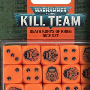 KILL TEAM: Death Korps Of Krieg Dice Set (102-83)