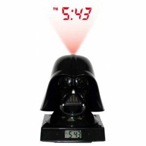 Star Wars: Despertador Proyector Con Sonido De Darth Vader