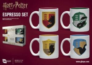 Harry Potter Pack De 4 Tazas Espresso House Pride
