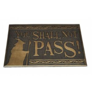 Rubber Mat – Lord Of The Rings (You Shall Not Pass)