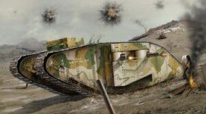 1:76 Airfix A02337V WWI Female Tank