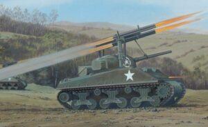 1:76 Airfix A02334V Sherman Calliope