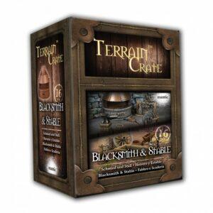 Terrain Crate: Blacksmith & Stable