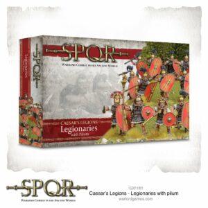 SPQR: Caesars Legions – Legionaries (With Pilum)