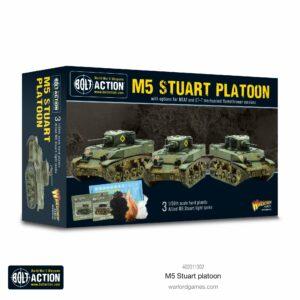 Bolt Action: M5 Stuart Platoon