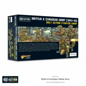 Bolt Action: British & Canadian Starter Army