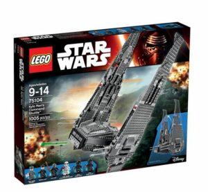 LEGO Star Wars – Nave De Combate De Kylo Ren
