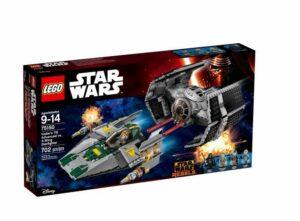 LEGO – TIE Advanced De Vader Vs. A-Wing Starfighter 75150