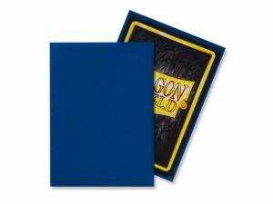Dragon Shield: Standard Sleeves – Matte Blue (100 Sleeves)